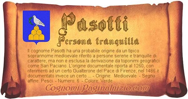 Nome Pasotti