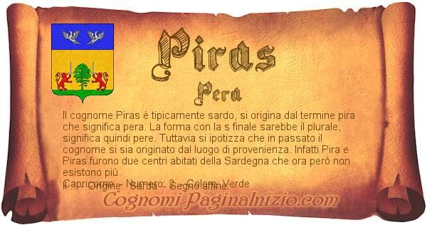 Nome Piras