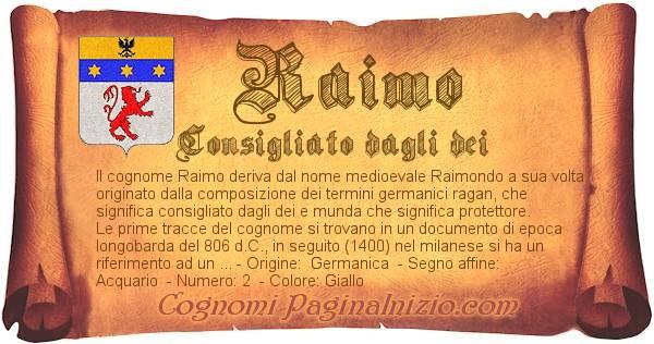 Nome Raimo