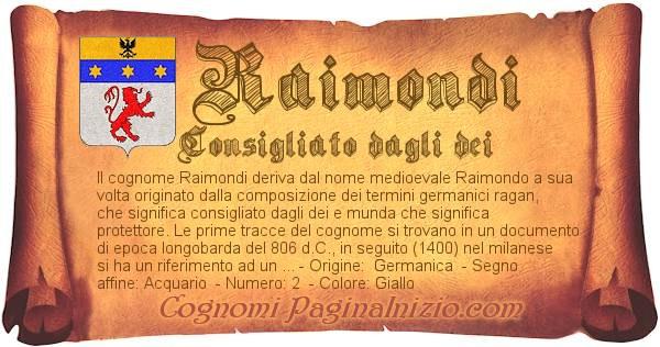 Nome Raimondi