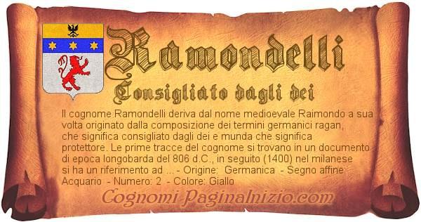 Nome Ramondelli