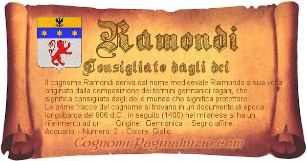 Nome Ramondi