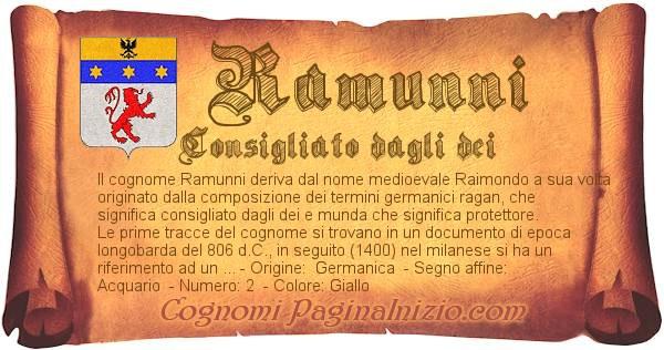 Nome Ramunni