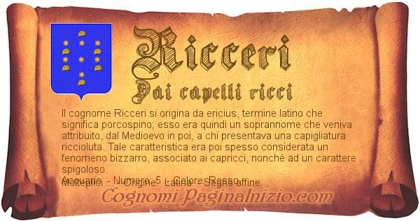 Nome Ricceri