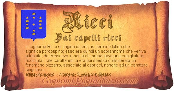 Nome Ricci