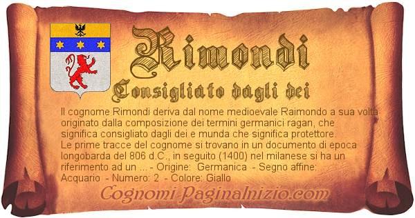 Nome Rimondi