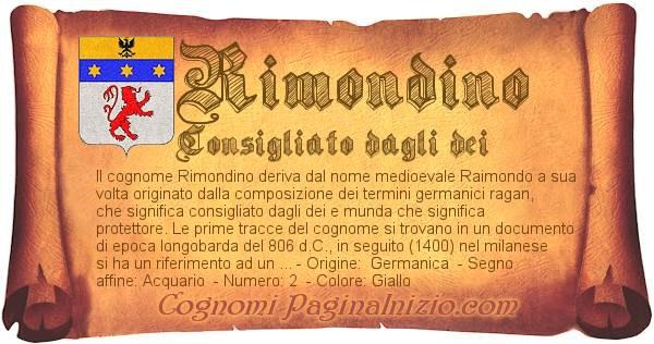 Nome Rimondino