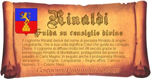 Nome Rinaldi