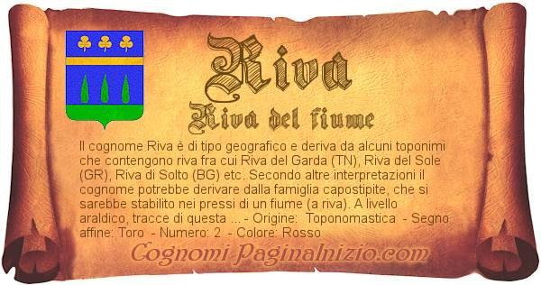 Nome Riva