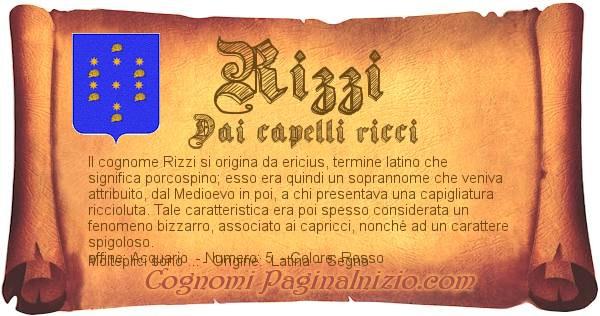 Nome Rizzi