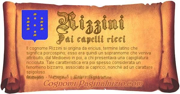 Nome Rizzini