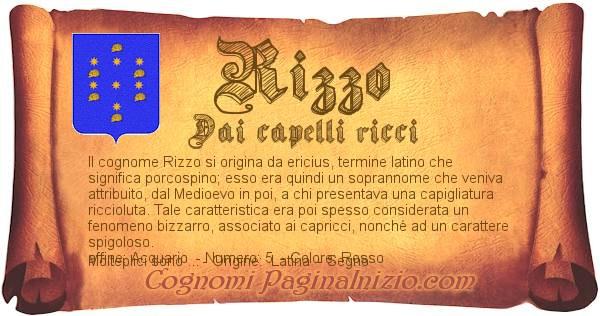 Nome Rizzo