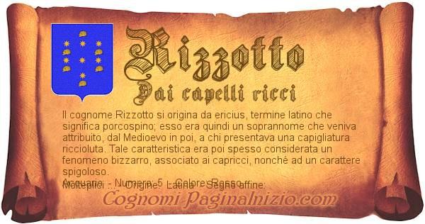 Nome Rizzotto