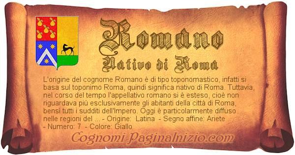 Nome Romano