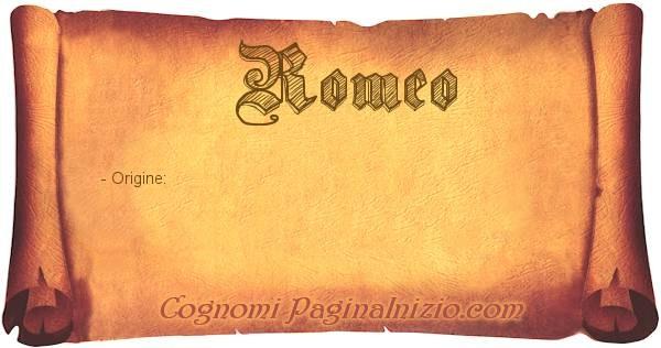 Nome Romeo
