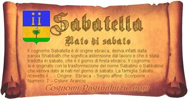 Nome Sabatella
