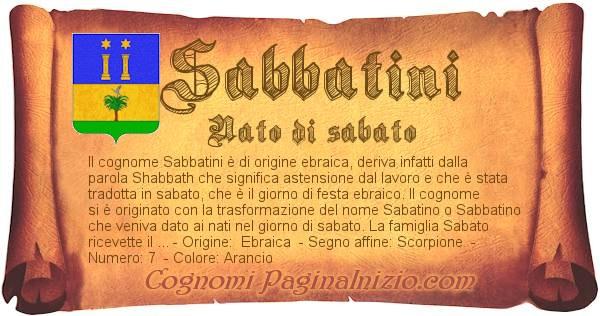Nome Sabbatini