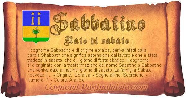 Nome Sabbatino