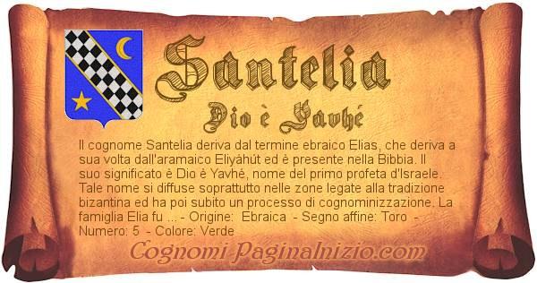 Nome Santelia