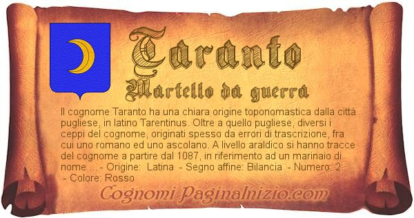 Nome Taranto