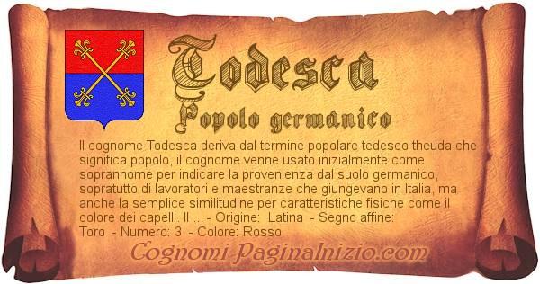 Nome Todesca