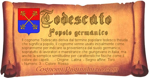 Nome Todescato