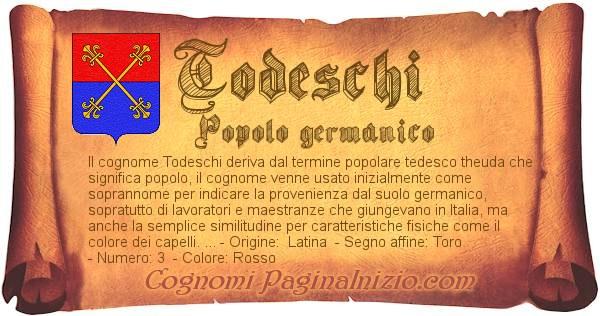 Nome Todeschi