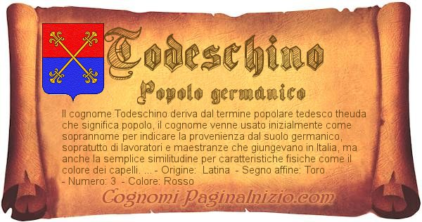 Nome Todeschino
