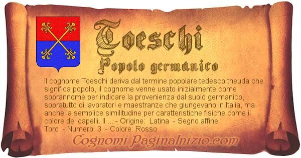Nome Toeschi