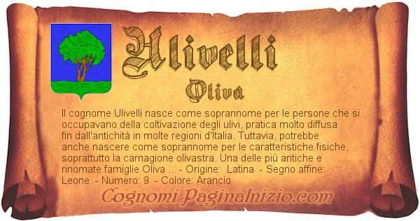 Nome Ulivelli