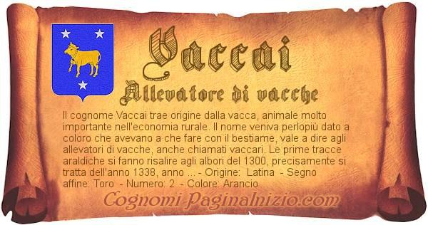 Nome Vaccai