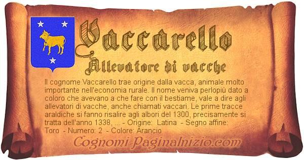 Nome Vaccarello