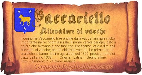 Nome Vaccariello