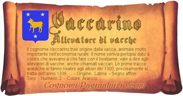 Nome Vaccarino