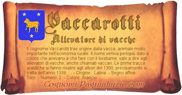 Nome Vaccarotti