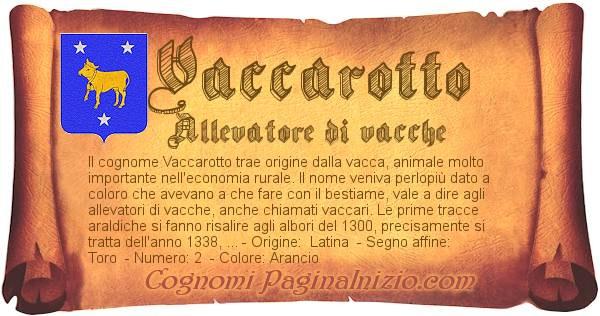 Nome Vaccarotto