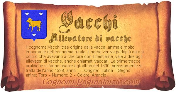 Nome Vacchi