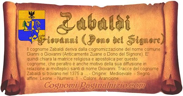 Nome Zabaldi
