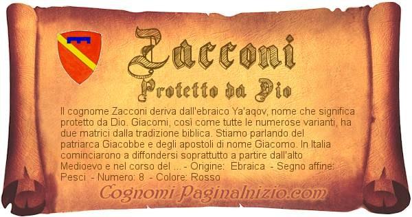 Nome Zacconi