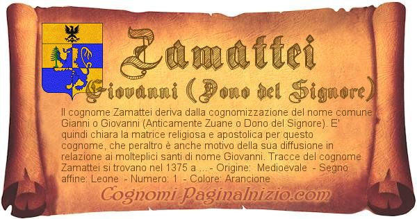 Nome Zamattei