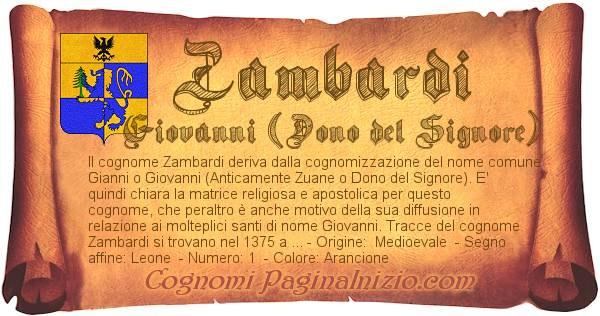 Nome Zambardi