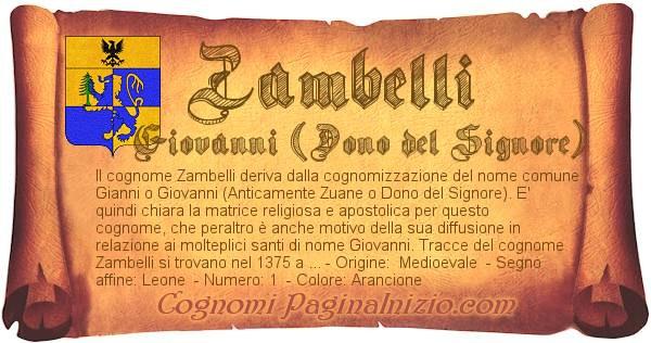 Nome Zambelli