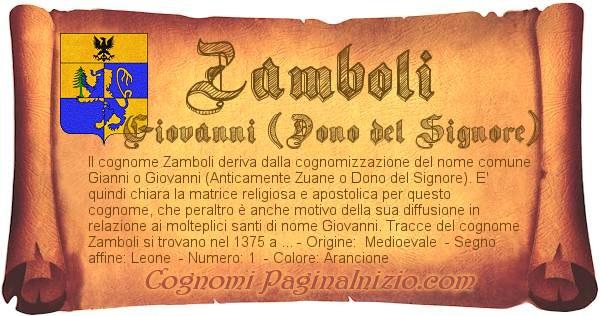 Nome Zamboli