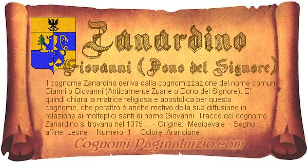 Nome Zanardino
