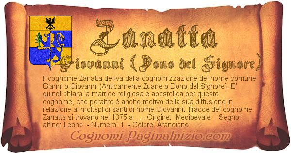 Nome Zanatta