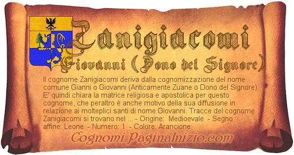 Nome Zanigiacomi