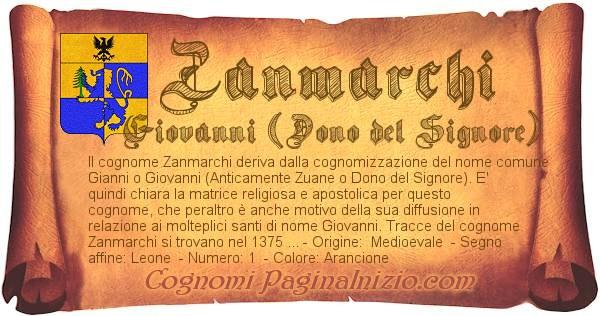 Nome Zanmarchi
