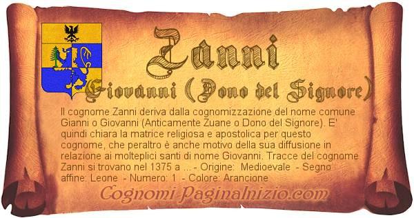 Nome Zanni