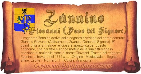 Nome Zannino