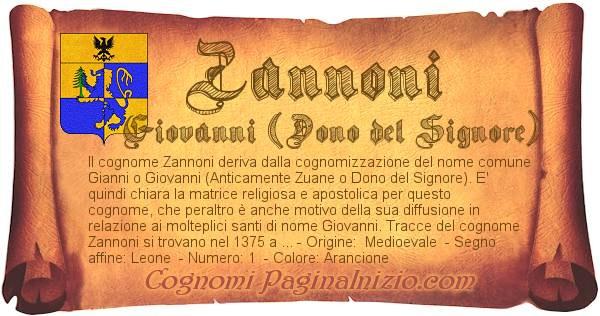 Nome Zannoni